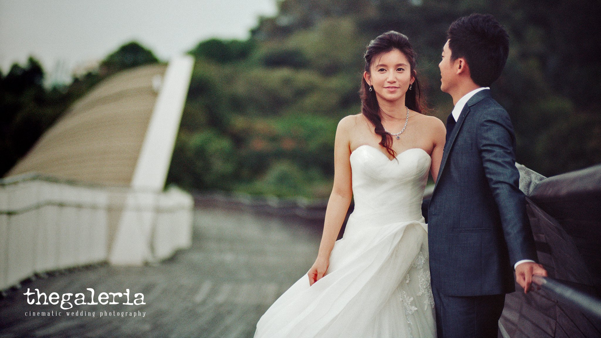 Wedding Photography by Film Wedding Photographer Brian Ho Gown
