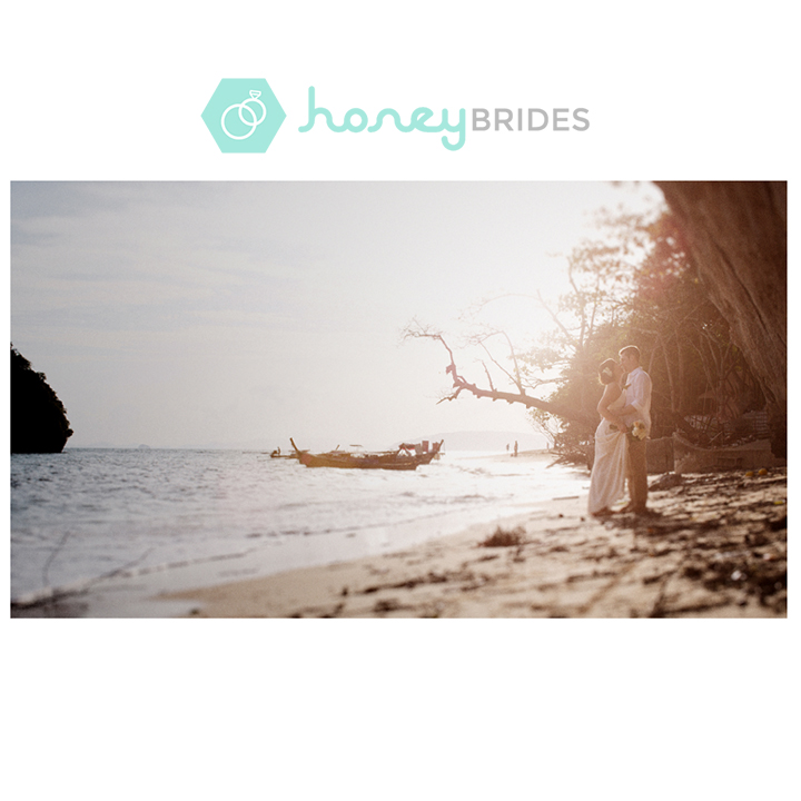 Krabi Weddings by Film Wedding Photographer Brian Ho from thegaleria / Location: Rayavadee Krabi / Featured at Honey Brides