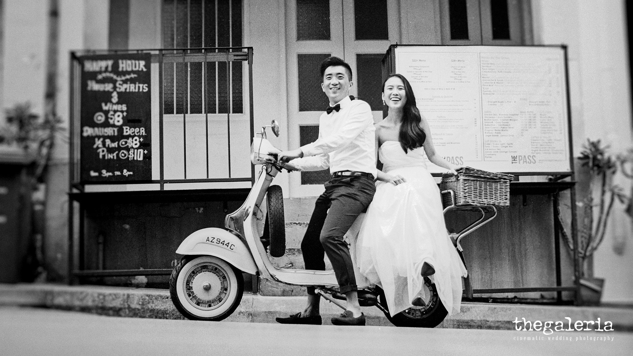 Wedding Photography by Film Wedding Photographer Brian Ho from thegaleria / Kodak TRI-X 400