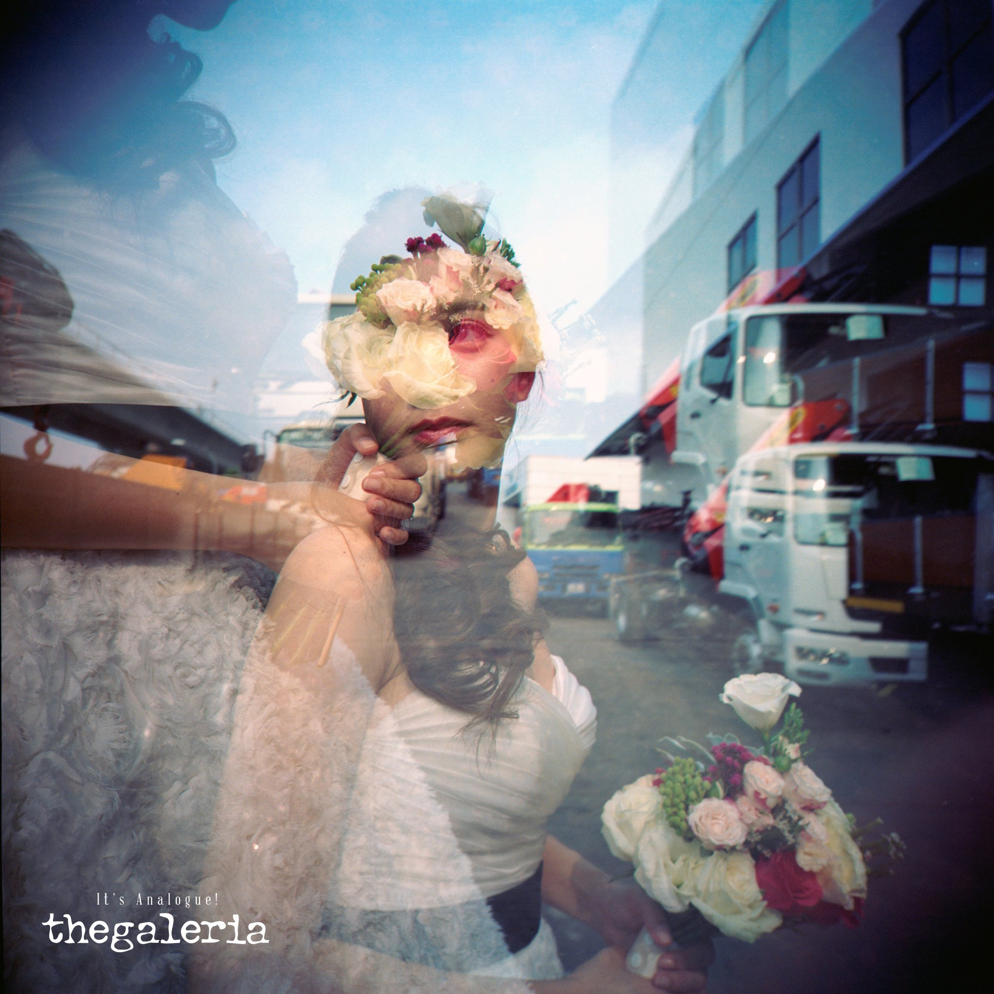 Film Wedding Photography by Film Wedding Photographer from thegaleria / Lomography LC-A 120 / Kodak Portra 800