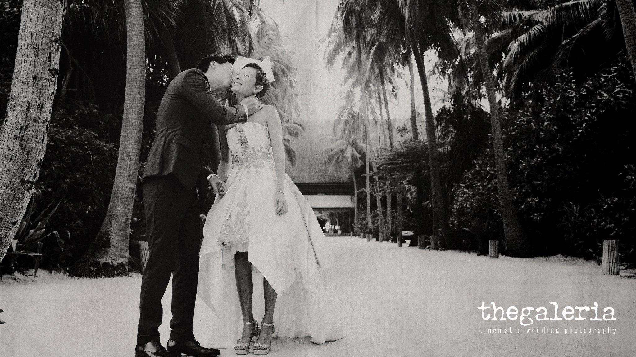 Maldives Pre-Wedding & Destination Weddings by Film Wedding Photographer Brian Ho from thegaleria