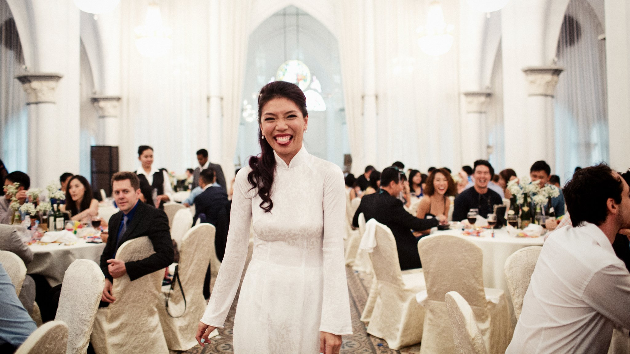 Chijmes Wedding Photography by Film Wedding Photographer Brian Ho from thegaleria