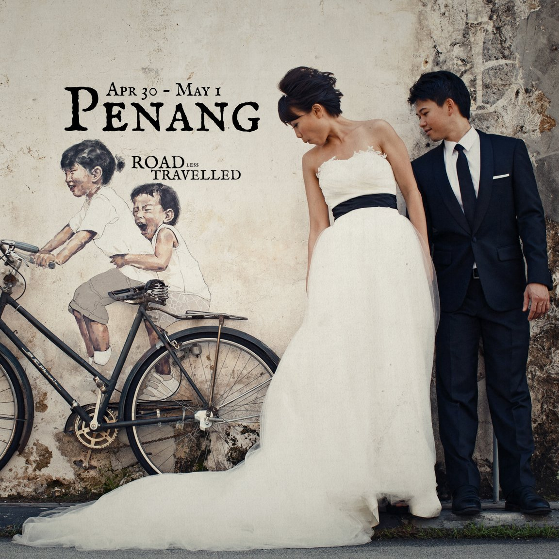 Overseas Pre-Wedding / Penang / Film Wedding Photography by Wedding Film Photographer Brian Ho from thegaleria